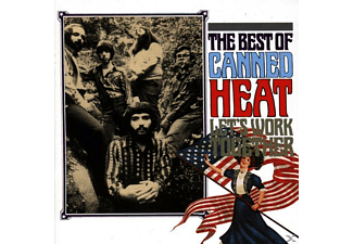 Canned Heat BEST OF LETS WORK TOGETHER Rock CD
