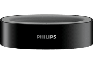 PHILIPS SSC5CS/10,  Ladestation, Schwarz