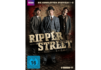 RIPPER STREET 1.+2.STAFFEL - (DVD)