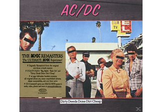 AC / DC - Dirty Deeds Done Dirt Cheap - Remastered (CD)