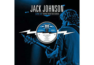 Jack Johnson - Live At Third Man Records - (Vinyl)
