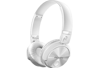PHILIPS SHB3060WT/00, On-ear Kopfhörer, Bluetooth, Weiß