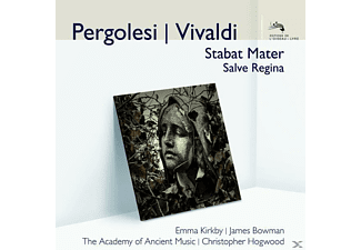 Aam, Emma Kirkby, James Bowman, Christopher Hoqwood, Kirkby,Emma/Bowman,James/Hogwood,Christopher/AAM - Stabat Mater/Salve Regina [CD]