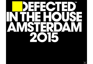 VARIOUS - Defected In The House-Amsterdam 2015 - (CD)