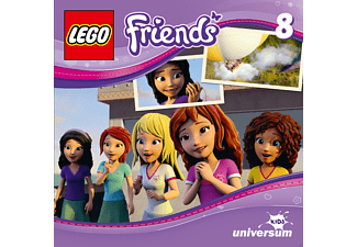 Lego Friends - Lego Friends  8 - Die Pirateninsel - (CD)