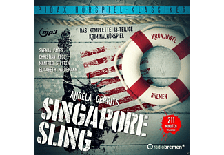 Angela Gerrits - Singapore Sling - (MP3-CD)