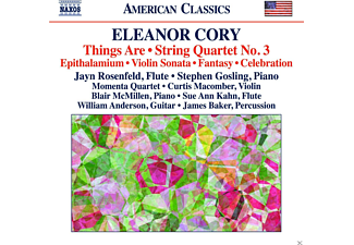Momenta Quartet, Jayn Rosenfeld, Stephen Gosling - Things Are/Streichquartett 3/Epithalamium/+ - (CD)