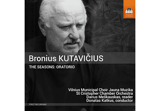 Vilnius Municipal Choir Jauna Muzika, St Cristopher Chamber Orchestra - The Seasons [CD]