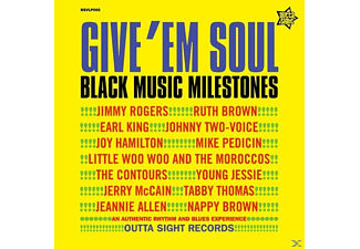 VARIOUS - Give 'em Soul Vol.2-Yellow Edition - (Vinyl)