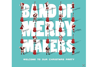 Band Of Merrymakers - Welcome To Our Christmas Party [CD]