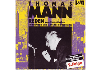 Mann Thomas - Reden 2 - (CD)