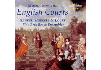Fine Arts Brass Ensemble - Music From The English Courts - (CD)