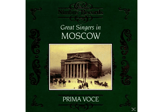 VARIOUS, Shevelyov, Figner, Sobinov - Great Singers In Moscow - (CD)