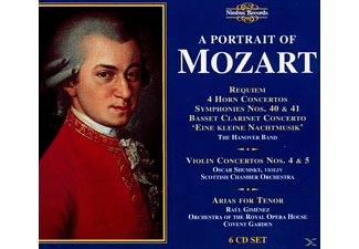 VARIOUS, The Hanover Band, Scottish Chamber, Shumsky - Portrait Of Mozart - (CD)