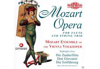 Mozart Ensemble Of Vienna Volksoper - Opera For Flute+Trio - (CD)