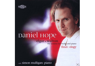Daniel Hope, Simon Mulligan Daniel Hope - Elgar & Walton Violin Sonatas - (CD)