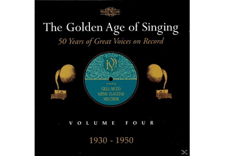 VARIOUS, Lehmann, Supervia, Gigli - Golden Age Of Singing 4 - (CD)