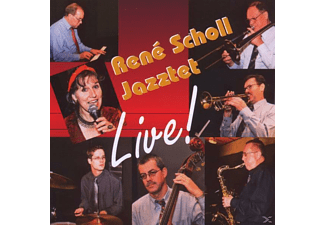 Rene Jazztet Scholl - Live! At The Jazz Club Uster [CD]