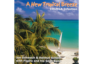 Helmut Schöni - A New Tropical Breeze-Counga - (CD)