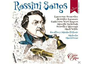 Larmore, Brownlee, Delunsch, Wyn-rogers - Il Salotto Vol.13 - Rossini Songs - (CD)