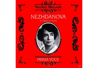 Antonina Nezhdanova, Antonina/various Nezhdanova - Nezhdanova In Opera & Song - (CD)