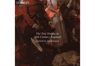 London Baroque - THE TRIO SONATA IN 18TH-CENTURY ENG - (CD)