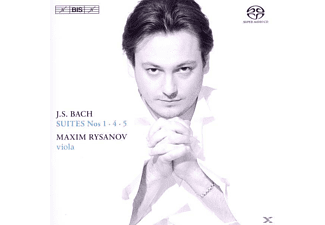 Maxim Rysanov - Suites For Solo Cello 1, 4 & 5 (Arr [SACD Hybrid]