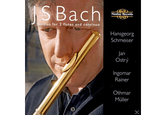 Mueller, SCHMEISER/OSTRY/RAINER/MULLER - Bach Sonatas For 2 Flutes+Continu - (CD)