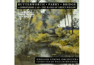 William Boughton, English String Orchestra - Butterworth/Parry/Bridge - (CD)