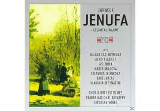 ORCH.D.PRAGER NATIONAL - Jenufa - (CD)