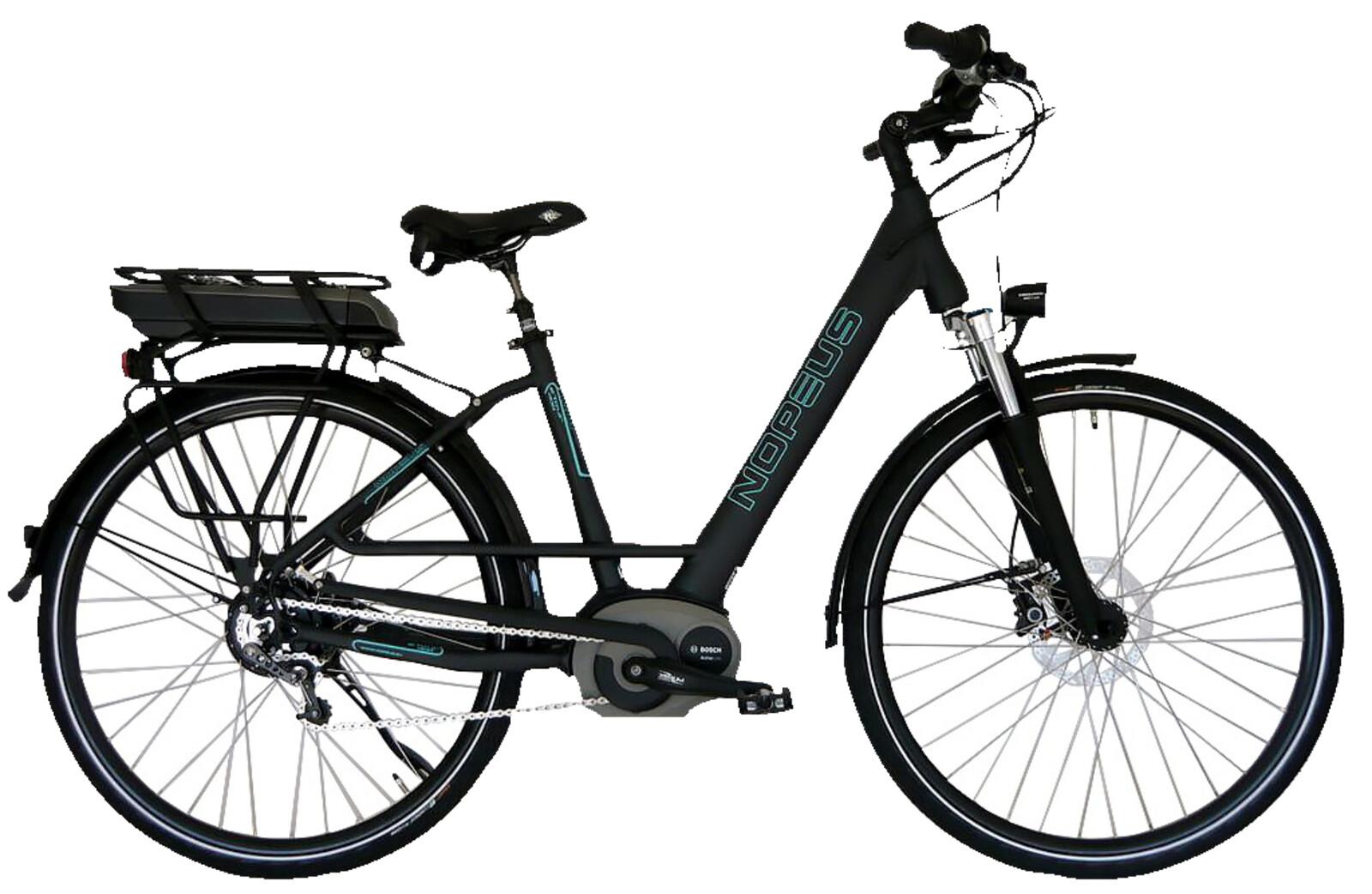 nopeus nuvinci pedelec bosch e bike 400 damen rh 53 eur. Black Bedroom Furniture Sets. Home Design Ideas