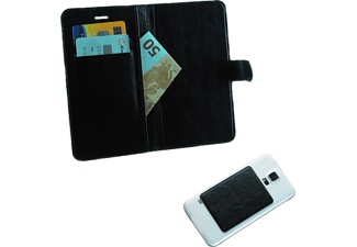 "VOLTE-TEL Θήκη Universal 5.0""-5.7"" Leather Line Book Magnet 3M Black  - (5205308151590)"
