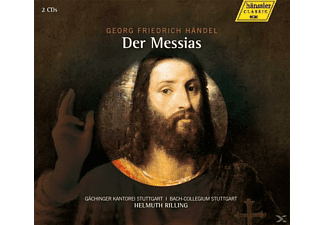 Alastair Miles, Roberto Sacca, Donna Brown, Gächinger Kantorei Stuttgart, Bach Collegium Stuttgart - Der Messias - (CD)