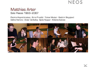 P. Kopatchinskaja, B. Previsic, V. Blagojevic - Matthias Arter: Solo Pieces 1993-2007 - (CD)