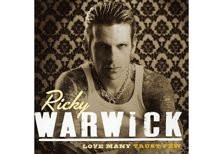 Ricky Warwick - Love Many Trust Few [CD]