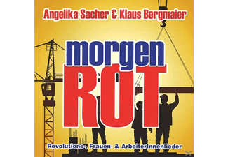 Angelika Sacher & Klaus Bergma - Morgenrot - (CD)