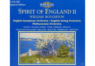 William Boughton, English Symphony Orchestra - Spirit Of England 2 - (CD)