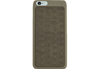 ORA ITO Wood Cover Ita Drapa Backcover Apple iPhone 6, iPhone 6S  Grau