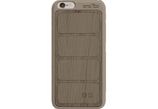 ORA ITO Wood Cover Ita Backcover Apple iPhone 6, iPhone 6S  Grau