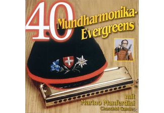 VARIOUS - 40 Mundharmonika Evergreens [CD]
