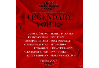 VARIOUS, Gobbi, Ponselle, Caruso, Schipa - Legendary Voices - (CD)