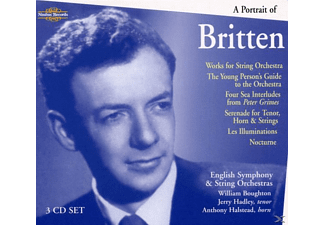 William Boughton, English String Orchestra - A Portrait Of Britten - (CD)