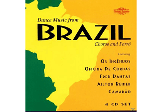 Os Ingenuos/Oficina De Cordas - Dance Music From Brazil - (CD)