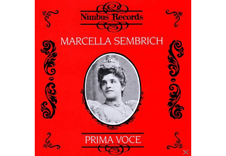 VARIOUS, Sembrich Marcella - Sembrich/Prima Voce - (CD)