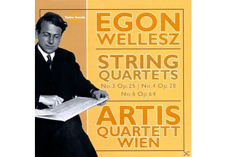 Quintett Wien, Artis-quartett Wien - Wellesz String Quartets - (CD)