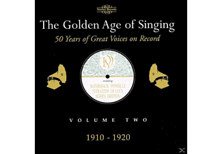 VARIOUS - The Golden Age of Singing Vol.2,1910-1920 - (CD)