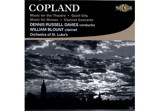 ORCHESTRAST.LUKE, Blount/Davies/Orchestra St.Luke - Copland Music For The Theatre - (CD)