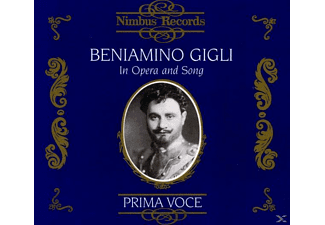 VARIOUS, Benjamin Gigli - Gigli In Opera And Song - (CD)