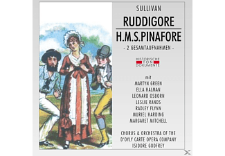 Chorus & Orch.Of The D'Oyly Carte Opera Company - Ruddigore/H.M.S.Pinafore - (CD)