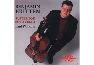 Paul Watkins - Suites For Solo Cello - (CD)
